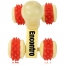 Rolling Wheels Wooden Massager Image 1