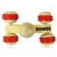 Rolling Wheels Wooden Massager Image 2