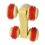 Rolling Wheels Wooden Massager Image 4