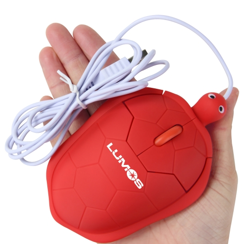 Tortoise Shaped Wired Optical Mouse