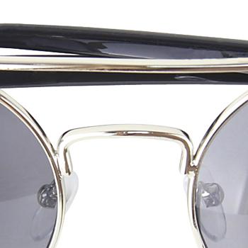 Retro Reflective Round Sunglass