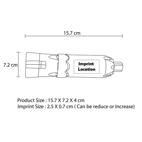 6-In-1 Multi-Functional Car Emergency Hammer