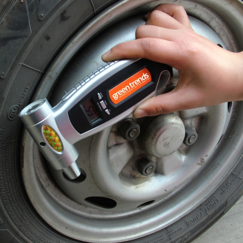4-In-1 Digital Car Emergency Pressure Gauge