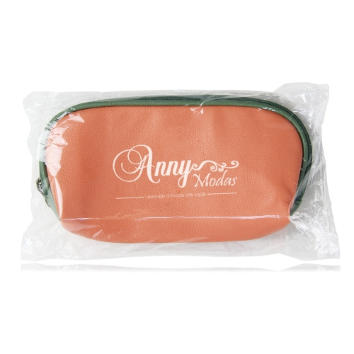 Fashion Soft Leather Cosmetic Bag Image 9