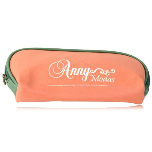 Fashion Soft Leather Cosmetic Bag Image 2