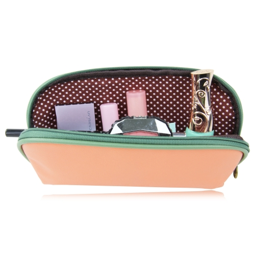 Fashion Soft Leather Cosmetic Bag Image 3