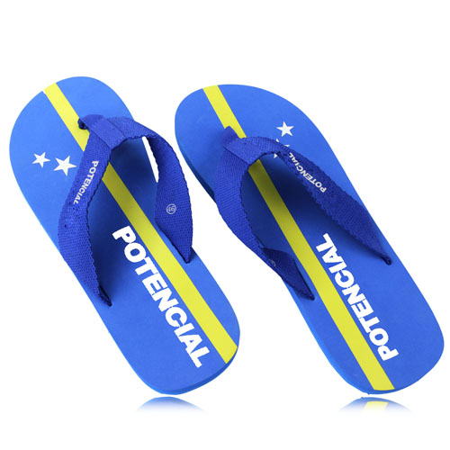 Fabric Ribbon Strap Flip Flop Image 1