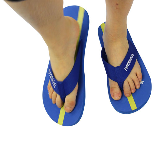 Fabric Ribbon Strap Flip Flop Image 5