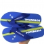 Fabric Ribbon Strap Flip Flop Image 6
