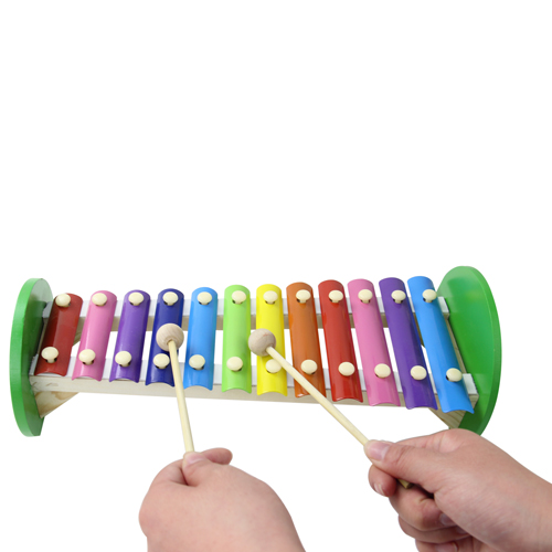 Children Wooden Knock Xylophone Image 3