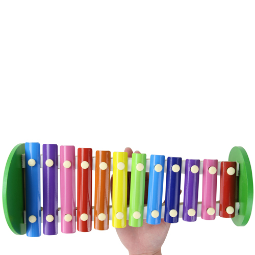 Children Wooden Knock Xylophone Image 4