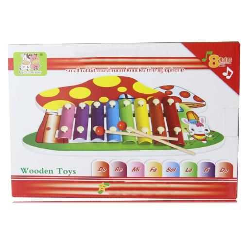 Rabbit Mushroom 8 Knock Xylophone