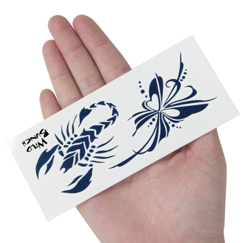 Your Logo Temporary Tattoo  - 13 x 5.5 cm