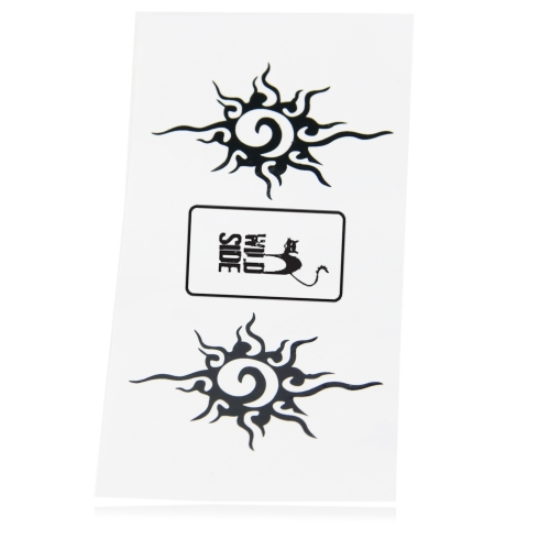 12 x 6 cm Custom Design Tattoo Image 1