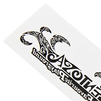 Custom Shaped Temporary Skin Tattoo - 11 x 3cm