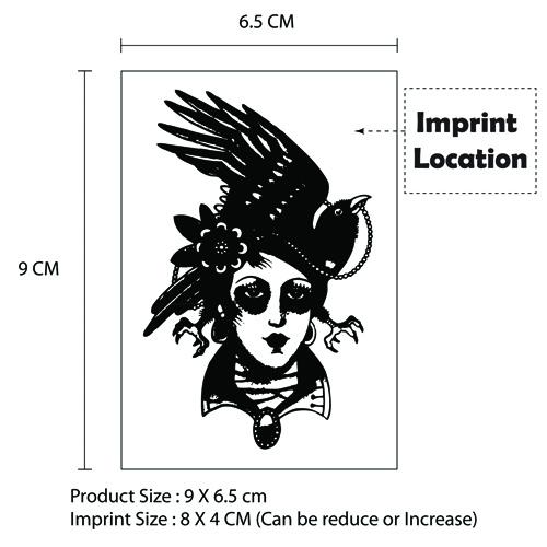 Customize Temporary Tattoo - 9 x 6.5cm