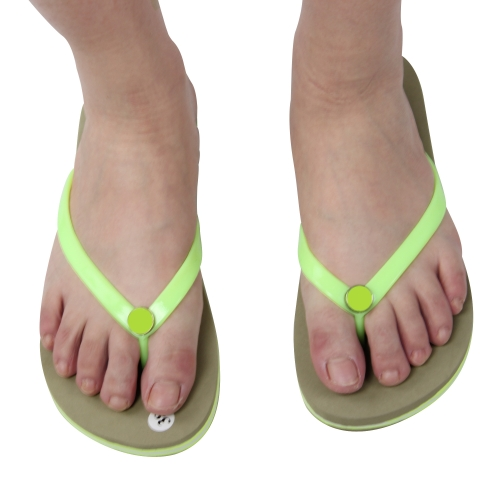 3 Layer Sandal With Vinyl Strap