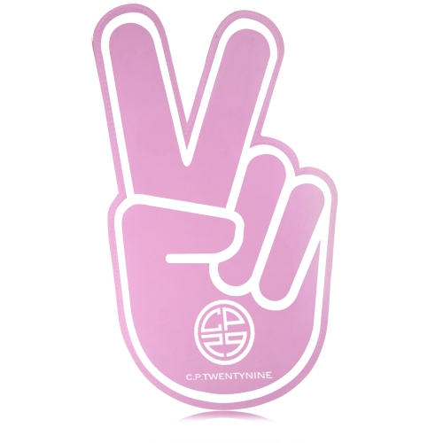 Victory Peace Sign Cheering Hand
