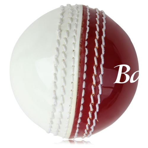 Double Color Leather Cricket Ball Image 2
