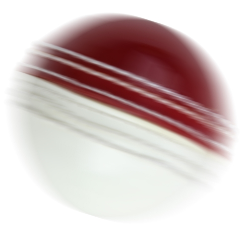 Double Color Leather Cricket Ball Image 3