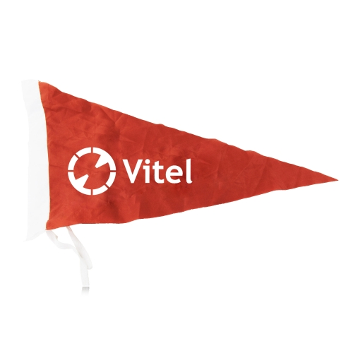 Advertising Pennant Flag With Tying String