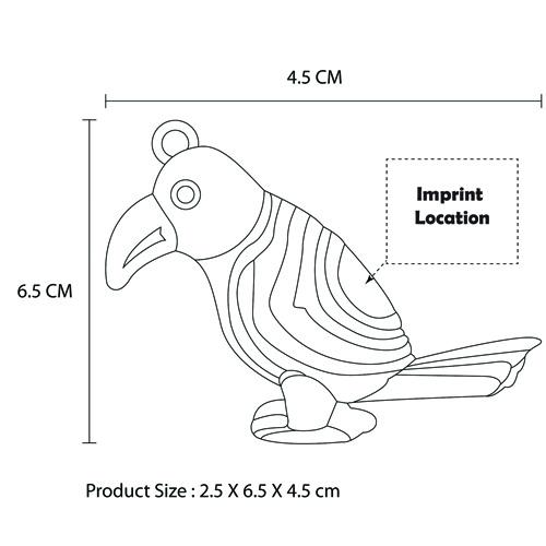 Bird Shaped Whistle