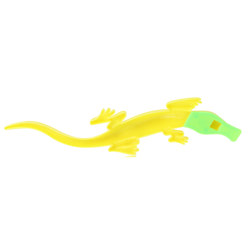 Lizard Shaped Plastic Whistle