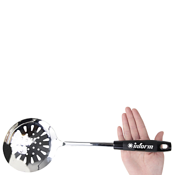Plastic Grip Stainless Steel Skimmer