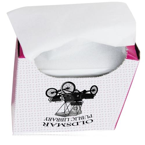80 Dry Sanitary Tissue Paper Image 3