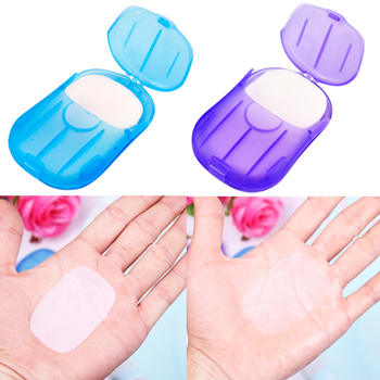 Scented Paper Soap With Case