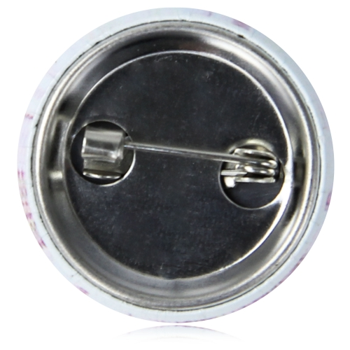 2.5CM Tin Button Badge With Safety Pin Image 5