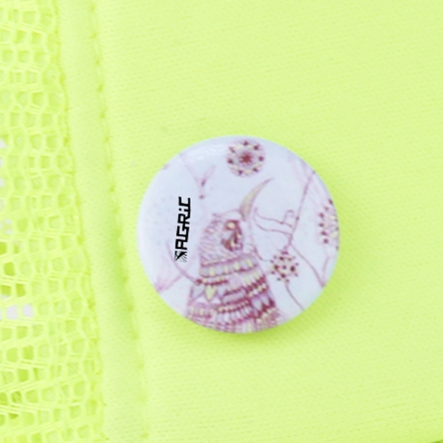2.5CM Tin Button Badge With Safety Pin Image 7