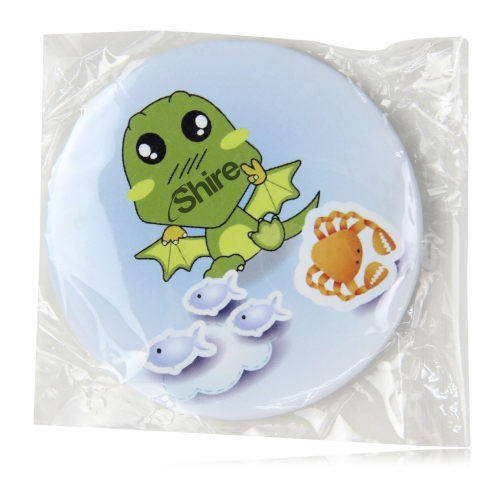 6.5CM Tin Button Badge With Pin Image 10