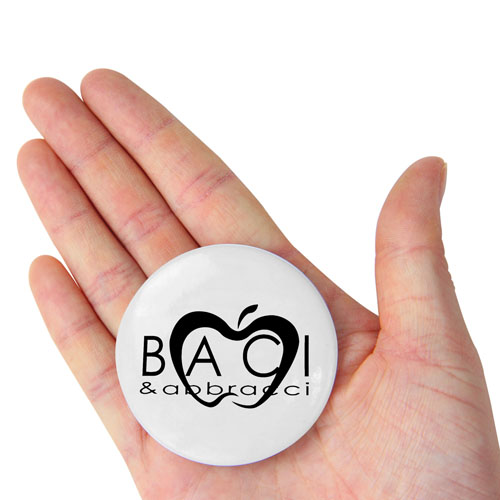 5.5CM Round Button Badge With Lapel Pin