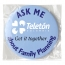 6CM Metal Round Pin Button Badge Image 9
