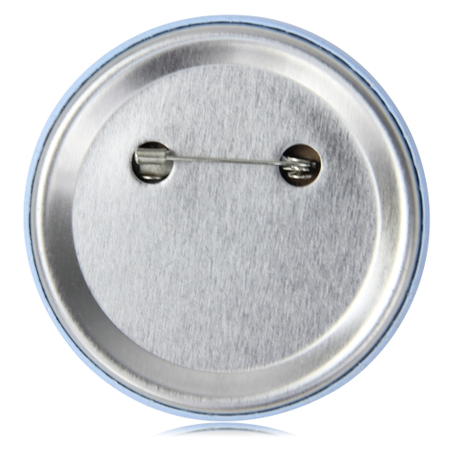6CM Metal Round Pin Button Badge Image 1