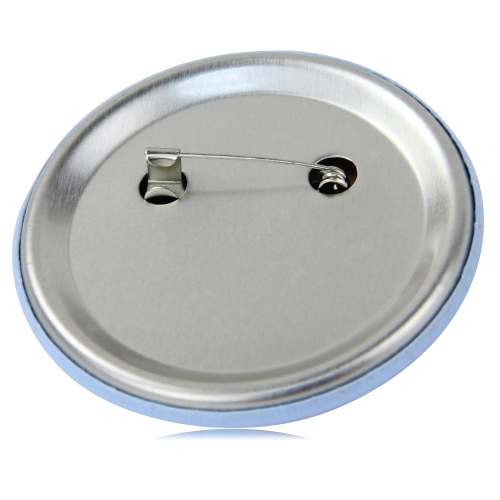 6CM Metal Round Pin Button Badge Image 5