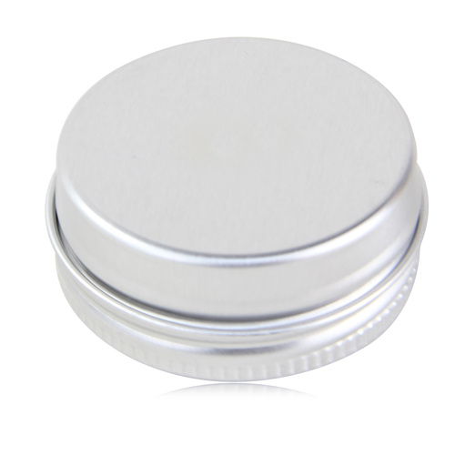 Lip Balm In Round Silver Tin Image 2