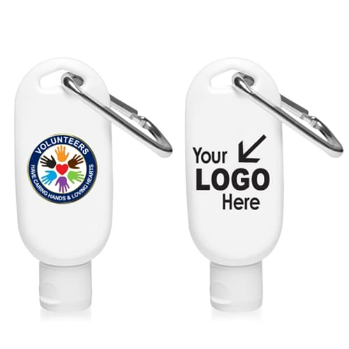 50ml Antibacterial Hand Sanitizer With Carabiner