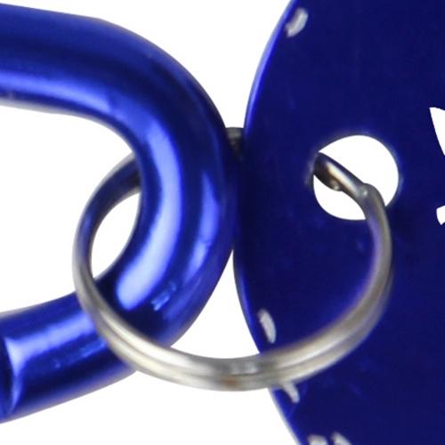 Round Carabiner Dog Tag Image 6