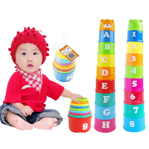 Creative Educational Stack Cup