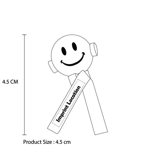 Smiley Face Antenna Topper Ball