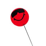 Happy Glass Ball Antenna Topper