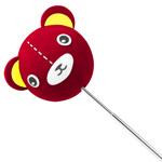 Teddy Bear Antenna Ball Pencil Topper