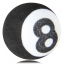 Stripe Pool Ball Antenna Topper Image 1