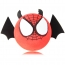 Spider Face Antenna Topper With Wings Image 1