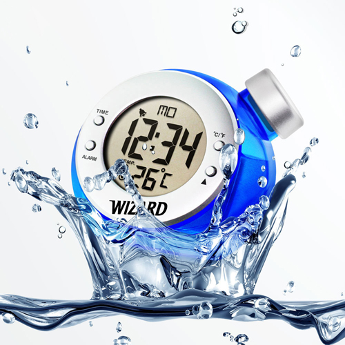 Water Powered Digital LCD Clock Image 5