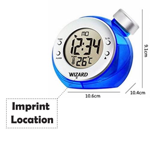 Water Powered Digital LCD Clock