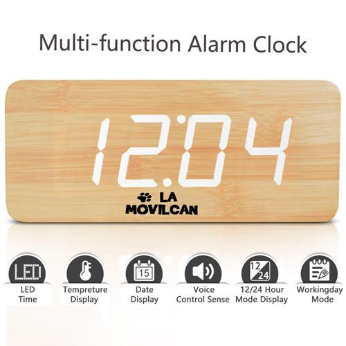 Modern Digital Desk Alarm Clock