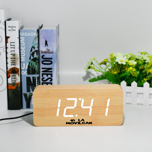 Modern Digital Desk Alarm Clock Image 2